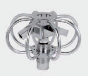 TYR 2S hidromotors tartály mosófej fúvóka nélkül