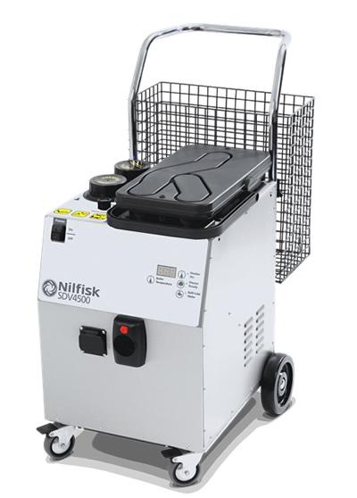 NILFISK SDV4500 - Gőztisztító és nedvességszívó sokféle tisztításhoz és fertőtlenítéshez