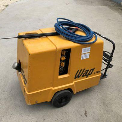 WAP C700 típusú használt, felújított nagynyomású melegvizes mosóberendezés (raktárban állt, alig használt berendezés!)